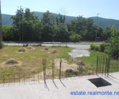 The plot near Budva, beside main road