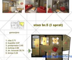 Studio apartment in Kotor